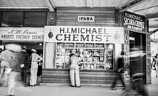 Michaels during WWII