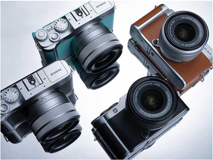 Fujifilm XA7 group
