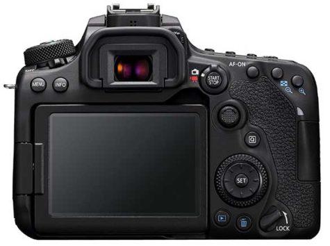 Canon 90D rear