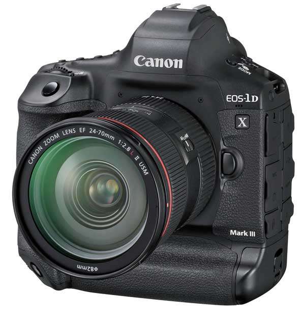 Canon 1DX Mark III flagship