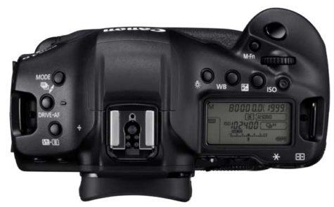 Canon-EOS-1D-X-Mark-III top