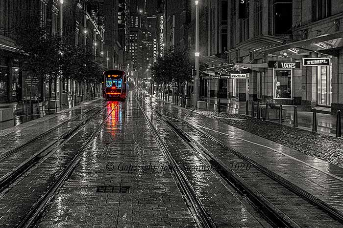 Covid Lonely tram JDS