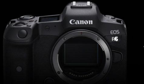 Canon R6 announcement