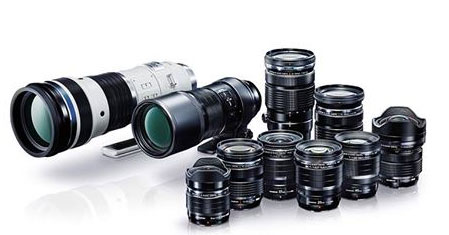 Olympus lenses
