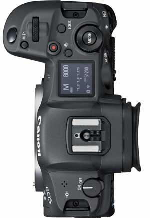 Canon R5 top