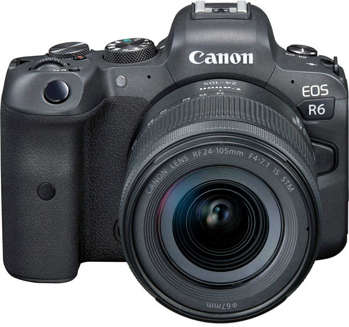 Canon R6 featured