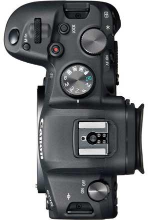 Canon R6 top