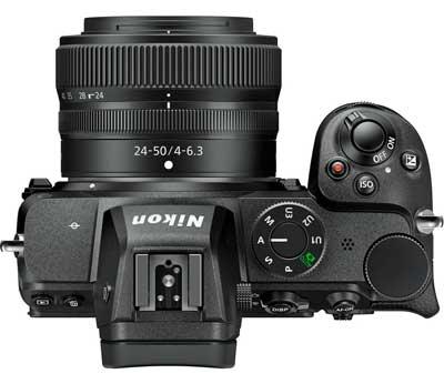 Nikon Z5 top