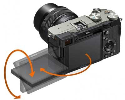 Sony A7C tiltscreen
