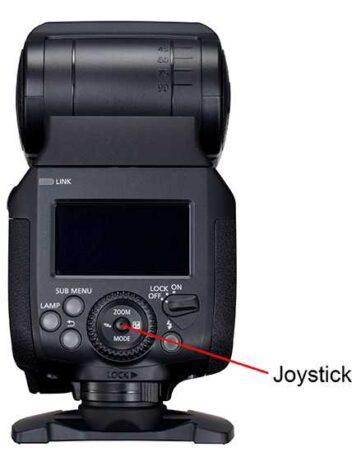 Canon El-1 controls