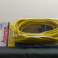HAMA Flash cable - 10m, yellow (used)